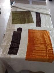 Κουβέρτα PANDUANA MERIBEL Πορτοκαλί