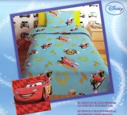 Σεντόνι Παιδικό Disney Cars Γαλαζιο Rota