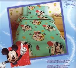 Σεντόνι Παιδικό Disney Mickey Γαλαζιο Ro