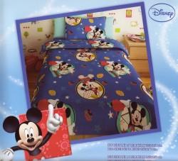 Σεντόνι Παιδικό Disney Mickey Μπλε Rotar