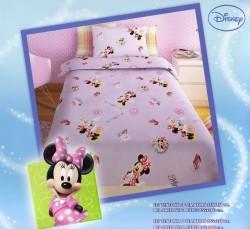 Σεντόνι Παιδικό Disney Minnie Μωβ Rotary