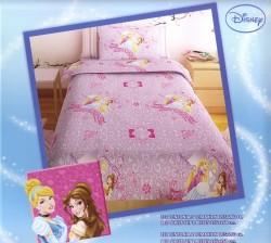 Σεντόνι Παιδικό Disney Princess Μωβ Rota