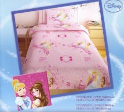 Σεντόνι Παιδικό Disney Princess Ροζ Rota