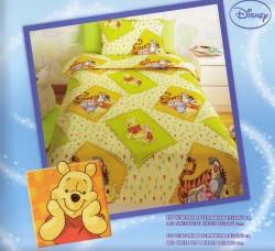 Σεντόνι Παιδικό Disney Winnie Κιτρινο Ro