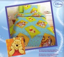 Σεντόνι Παιδικό Disney Winnie Μπλε Rotar
